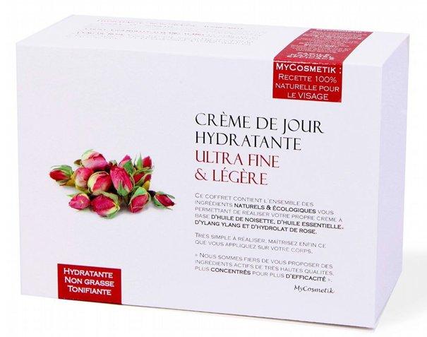 Mycosmetik La Creme De Jour Hydratante Ultra Fine Et Legere